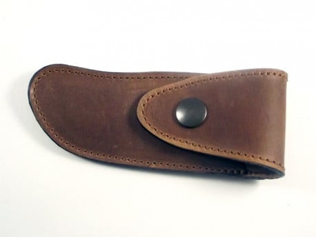 brown leather shealth for the belt